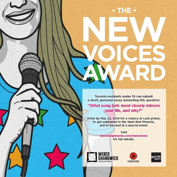 THE NEW VOICES AWARD RETURNS FOR YEAR 2  - Six Shooter Records